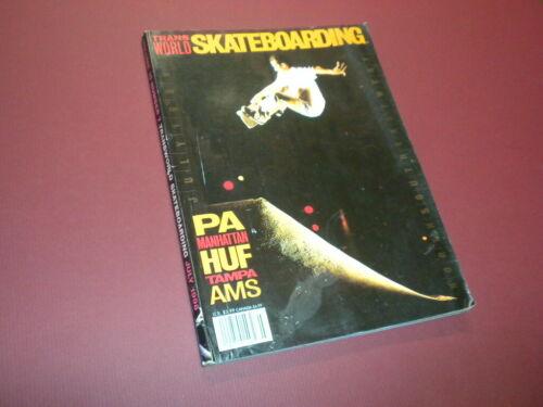 TRANSWORLD SKATEBOARDING magazine 1998 July SKATEBOARD