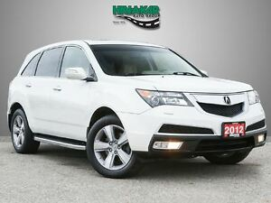 2012 Acura MDX Technology Package AWD