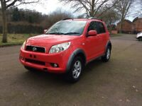 Daihatsu Terios new shape 1.5 SX 5dr, 10 months MOT, 2007, used daily drives well, E/W, C/L, PAS