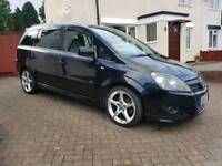 Vauxhall zafira sri 1.9cdti automatic