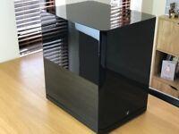 Arendal Subwoofer 1 500 Watt Gloss Black Home Cinema Subwoofer