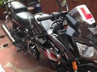 Motorbike Lexmoto 125cc 16reg 1900 Miles