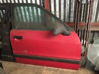 Audi 80 drivers door - not VW golf mk2 mk3 Quattro