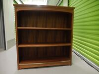 reduced Really nice solid teak bookcase 3 shelves