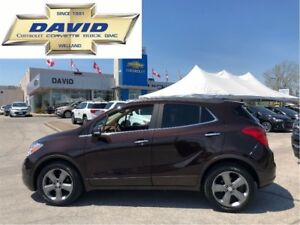 2014 Buick Encore CXL/ LEATHER/ SUNROOF/ REMOTE START/ REAR CAM!