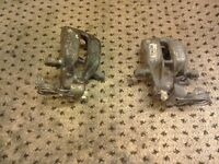Audi a4 rear brake calipers as new
