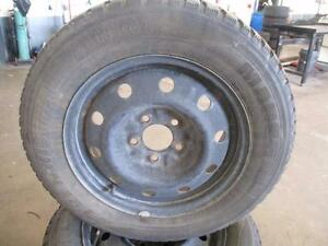 195/60R15	 MARSHAL IZENWIS - KW19 WINTER RIMS AND TIRES