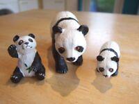 ELC / AAA wild animals - Panda bears x 3