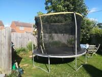 Trampoline 10ft free Collection only good condition