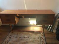 Original retro 60s desk / dressing table