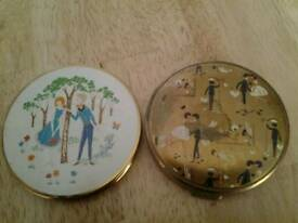 2 retro 1950s power compacts rock and roll rockabilly