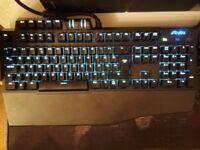 Gigabyte Osmium Aivia mechanical gaming keyboard
