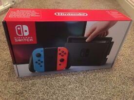 Nintendo Switch. Brand new