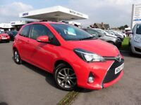 Toyota Yaris VVT-I ICON (red) 2016