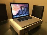 Late 2011 15 inch Macbook Pro Upgraded - SSD Drive and 16gb RAM