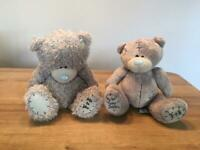 Pair of Tatty Teddy Bears