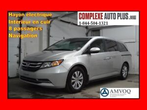 2014 Honda Odyssey EX-L w/Nav *Navi/GPS,Cuir,Toit,Hayon élec.