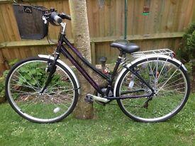 BICYCLE. Ladies Claud Butler Windermere bicycle as new
