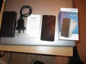 Alcatel pop 4. mobile phone Opened to all networks