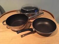 Lot Sale 3 pans/ saucepan/ casserole dish