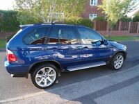 BMW X5 3.0d Msport Edition Le mans Blue 2006 Low mileaage