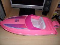 Vintage Barbie Speedboat and Cruiser Circa 1990's