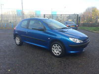 ** 2005 Plate Peugoet 206 S, 1.4L Petrol, Low Mileage,11 Months MOT - Ideal First Car - £1200 O.N.O