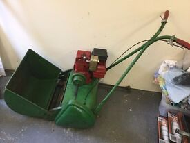 Ransomes Minor Mk 7 18-inch Cylinder Petrol Lawnmower for Restoration