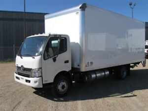 2017 Hino 195-173, 20ft Van Body, 2500lbs. Lift Gate