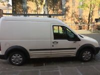 Transit Connect high roof long wheel base with roof rack. MOT till February 2019