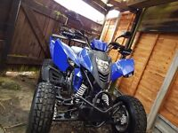 Cpi xs 250 road legal quad (quick sale)