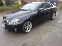 Lexus IS250 2012 Petrol Automatic in Black - not BMW or Audi