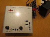 DBX Mini Vacuum Tube Pre-amp