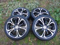 "18"" custom made Jaguar wheels"