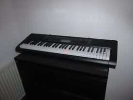 Casio lk-160 Keyboard Very Good condition (Light up Keys)