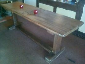 lovely refectory table