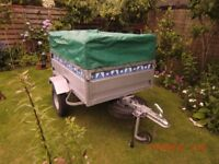 Galvanised & tipping trailer