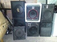 Variety of 7 stage speakers