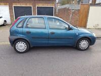 Vauxhall Corsa 1.4 Comfort 16V Petrol Fully Automatic, Blue 5 Door Hatchback 2002, 74882 miles. £995