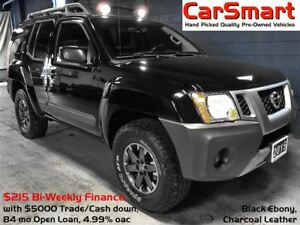 2015 Nissan Xterra PRO-4X, Leather, Nav, Reverse Camera, Bluetoo