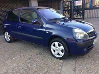 Renault Clio 1.2 1YEAR MOT alloys service history