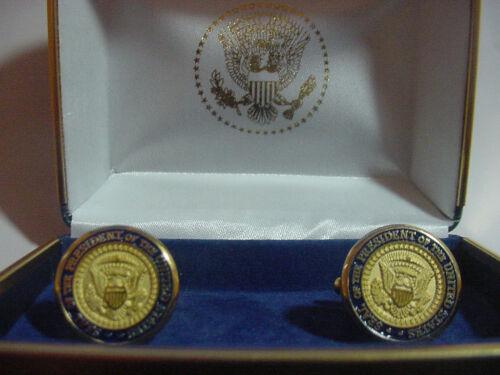 Pair of  President RONALD REAGAN  Cufflinks - Diecast