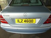 **REDUCED PRICE FOR QUICK SALE: Excellent private registration number for sale