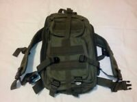 Small military tactical backpack rucksack
