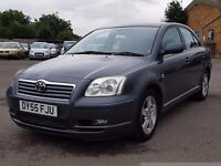 IMMACULATE TOYOTA AVENSIS DIESEL,9 STAMPS,HPI CLEAR,CAMBELT CHANGED,2395 ONO