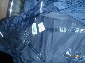 Dry Kids Childrens Waterproof Rainsuit, age 3-4, great condition, blue