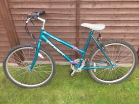 Ladies bike, 10 gears, good condition, selling due to lack of storage space