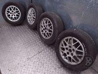 Mitsubishi Space Wagon (1999-2004) 4x Alloy Wheels + Tyres 205/65 R15 ref.15R10