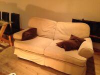 sofa 2 seater , marks & spencer £40