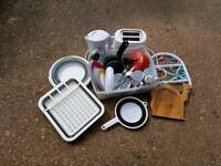 Job lot of camping accessories